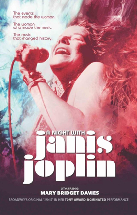 Review: A NIGHT WITH JANIS JOPLIN Celebrates the Queen of Rock and Roll's Glory Days and Early Blues Influences