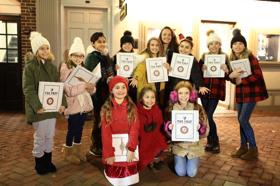 THE PREP Students Ring in the Holidays with Caroling at Goldtinker Holiday Sip & Shop in Red Bank