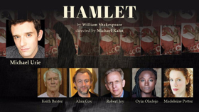 Michael Urie-Led HAMLET Finds Full Cast at Shakespeare Theatre Company