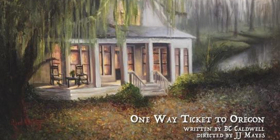 First Look: World Premiere ONE WAY TICKET TO OREGON by BC Caldwell opens 11/17
