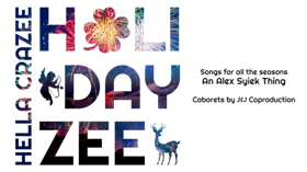 Alex Syiek to Bring HELLA CRAZEE HOLIDAYZEE to Feinstein's/54 Below