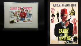 CARRY ON Posters & Original Artwork to be Sold in UK Auction