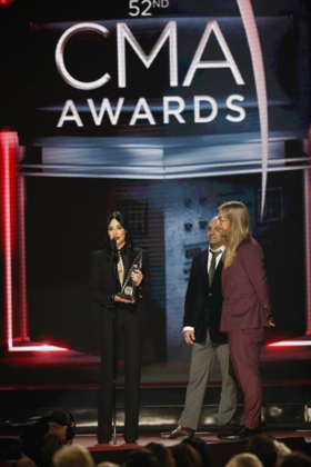 Kacey Musgraves Wins Big at the CMA AWARDS - See Full List of Winners Here!
