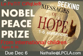 Youth Performance Company Le PeTiT CiRqUe to Perform at 24th Annual Nobel Peace Prize Concert
