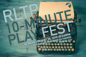 RLTP Announces 10-Minute Play Fest