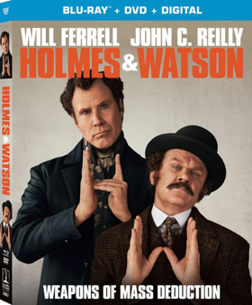 HOLMES & WATSON Will Be Available on Digital 3/26 & Blu-ray/DVD 4/9