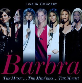 Barbra Streisand to Release Concert Album 'The Music...The Mem'ries...the Magic!,' 12/8; Pre-Order Now