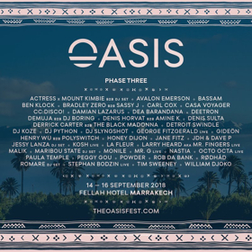 Morocco's Oasis Festival Announces Phase 3 with Ben Klock, Damian Lazarus, Stephan Bodzin, and More