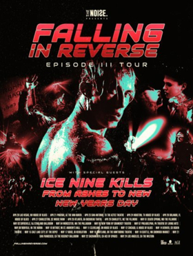 New Years Day Announces U.S. Spring Tour With Falling In Reverse