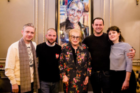 A Painting Of Harold Pinter Has Been Given To The West End Theatre Which Bears His Name