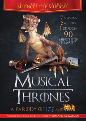 Right Angle Entertainment Tours MUSICAL THRONES: A PARODY OF ICE AND FIRE