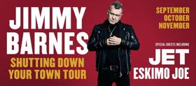 Jimmy Barnes Announces Shutting Down Your Town Tour