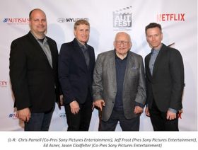 Sony Pictures Entertainment, ABC's THE GOOD DOCTOR and Netflix's ATYPICAL Honored at AutFest Film Festival