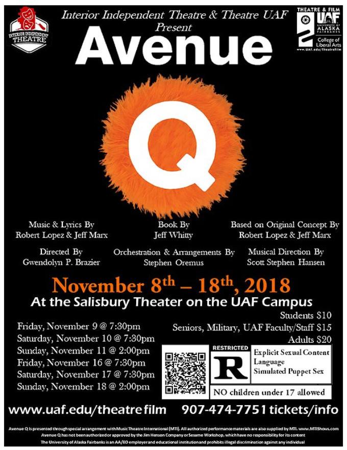 AVENUE Q Comes To Interior Independent Theatre Through 11/18