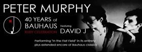 Peter Murphy Celebrates 40th Anniversary of BAUHAUS with RUBY Tour