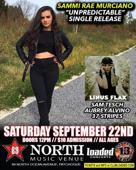 """Sammi Rae Murciano """"Unpredictable"""" Single & Video Release 9/22"""