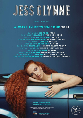 Jess Glynne Announces New Album ALWAYS IN BETWEEN + UK Tour