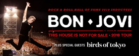 Birds of Tokyo Announced As Special Guests On Bon Jovi's December Tour