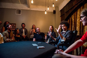 BWW Review: SEE/SAW Magician Siegfried Tieber Amazes Close-Up Audience Conjuring Unbelievable Playing Card Manipulations