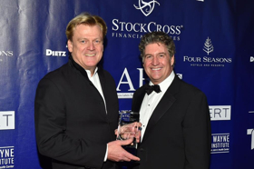 Associates for Cancer Studies Honor Patrick M. Byrne and Nancy O'Dell at 28thAnnualGala