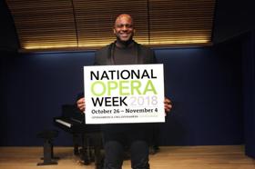 BWW OperaView: OPERA America's National Opera Week Begins Oct. 26, Chaired by Bass-Baritone Ryan Speedo Green