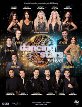 DANCING WITH THE STARS: LIVE! A NIGHT TO REMEMBER Announces