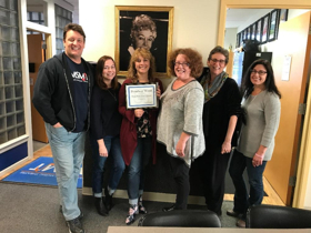 Photo Flash: MSMT Accepts BWW Critic's Choice Best of Maine 2017 Award