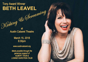 BWW Review: Beth Leavel Charms in KICKING AND SCREAMING at Austin Cabaret Theatre