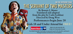 The Shakespeare Theatre of New Jersey Continues Season with THE SERVANT OF TWO MASTERS