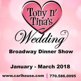 New York City's Off-Broadway Hit TONY N' TINA'S WEDDING is Coming To Atlanta