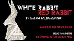 BWW Review: WHITE RABBIT, RED RABBIT is an Exercise in
