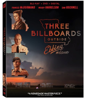 Oscar Nominated THREE BILLBOARDS OUTSIDE EBBING, MISSOURI Coming To DVD This February