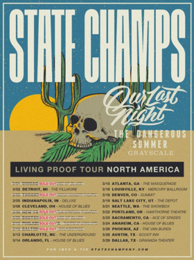 State Champs To Kick Off Living Proof North American Tour
