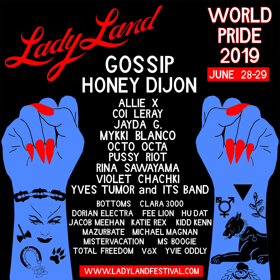 Pussy Riot Joins LadyLand Festival Lineup