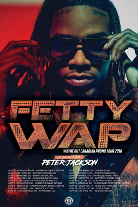 Fetty Wap Announces Wayne Out Tour with Peter Jackson + Tickets