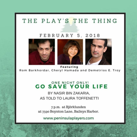 Peninsula Players Announces Cast Of GO SAVE YOUR LIFE