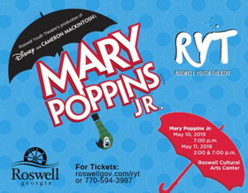 MARY POPPINS JR. Flies Into Roswell Performing Arts