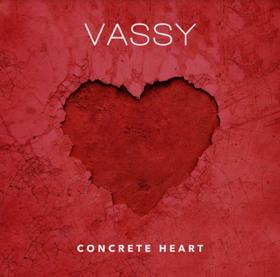 Multi-Platinum Recording Artist Vassy Releases CONCRETE HEART