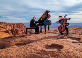 ThePianoGuys to Play the Peace Center