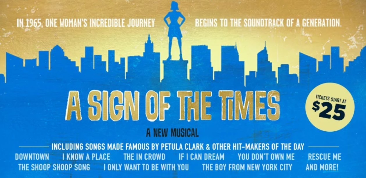 A SIGN OF THE TIMES Comes To Delaware Theatre Company 11/28