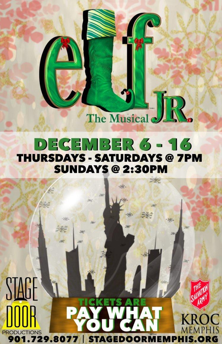 ELF JR. Comes To Stage Door Productions Next Month