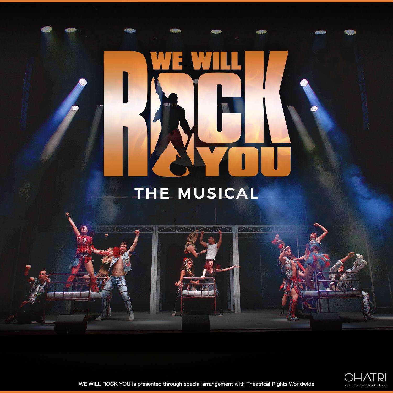 WE WILL ROCK YOU: the musical by Queen and Ben Elton al Teatro Europauditorium di Bologna
