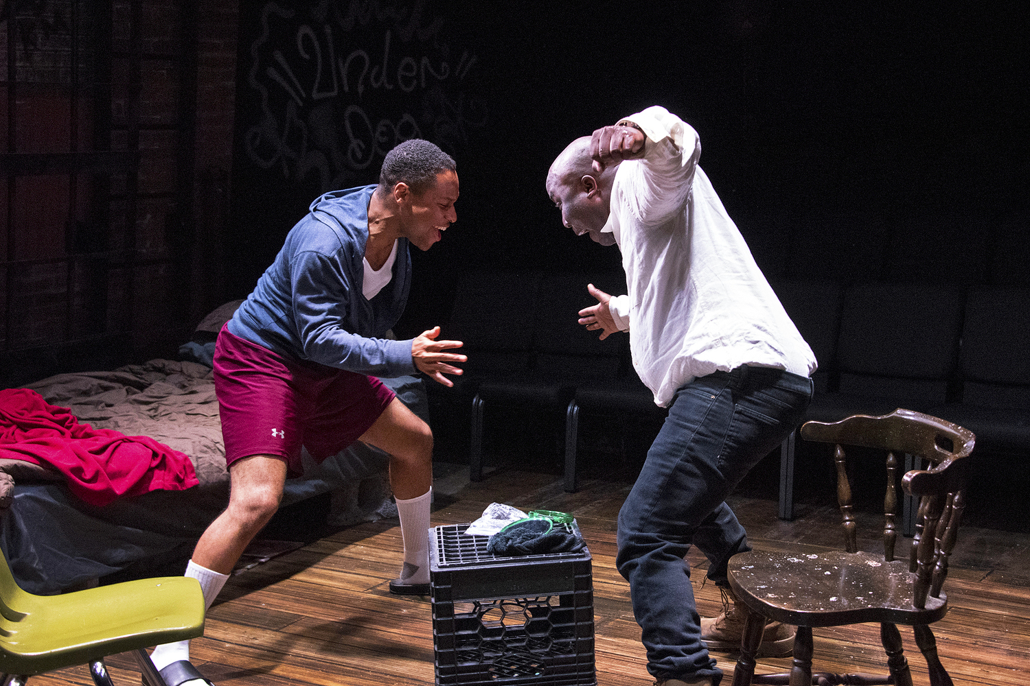 BWW Review: TOPDOG/UNDERDOG at TheatreLAB: A Powerful Portrayal of the Human Dynamic