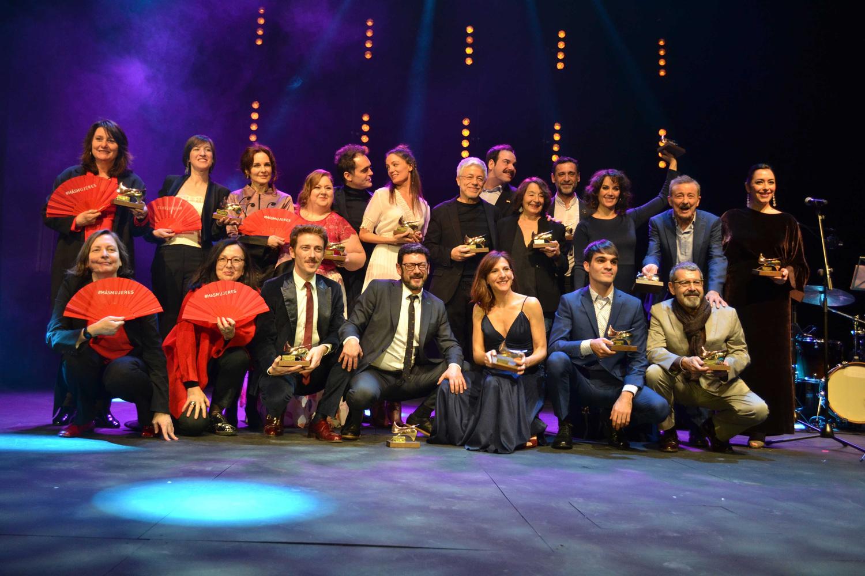Ganadores de la XVII edicion de los Premios Union de Actores y Actrices