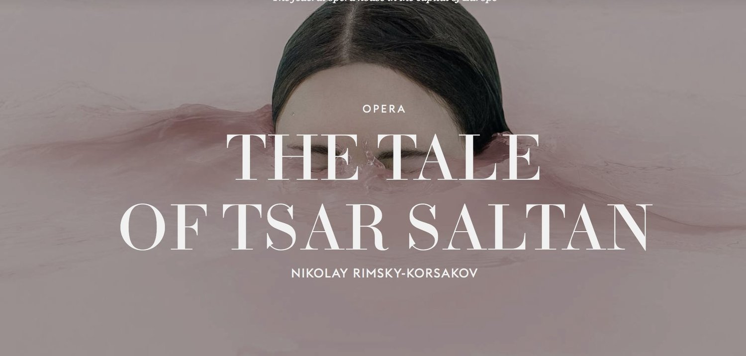 THE TALE OF TSAR SALTAN to Play at La Monnaie