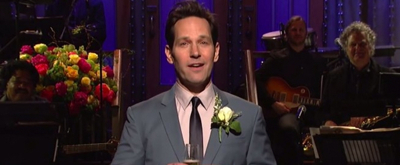 VIDEO: Paul Rudd Toasts to SNL Memories During His Opening Monologue