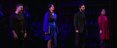 VIDEO: Watch Clips of Raul Esparza, Karen Olivo, Ramin Karimloo, and Ruthie Ann Miles in CHESS at the Kennedy Center