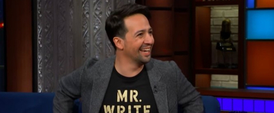 VIDEO: Lin-Manuel Miranda Talks the Difference Between the US and the UK, His New Book, and More on The Late Show