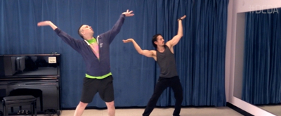 DANCE CAPTAIN DANCE ATTACK: Ben Dances Off to Agrabah with ALADDIN's Mike Cannon!
