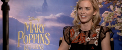 BWW TV Exclusive: Talkin' Poppins- Emily Blunt Explains Why Every Day was a Jolly Holiday on the Set of MARY POPPINS RETURNS